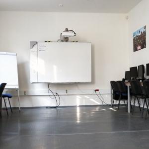 Počítačová učebna (fotoateliér, multimédia)
